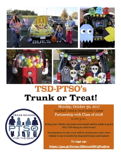 Tsd Ptsos Trunk Or Treat Texas School For The Deaf